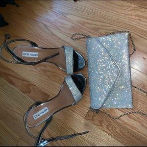 Bundle Steve Madden Shoes & Matching Purse
